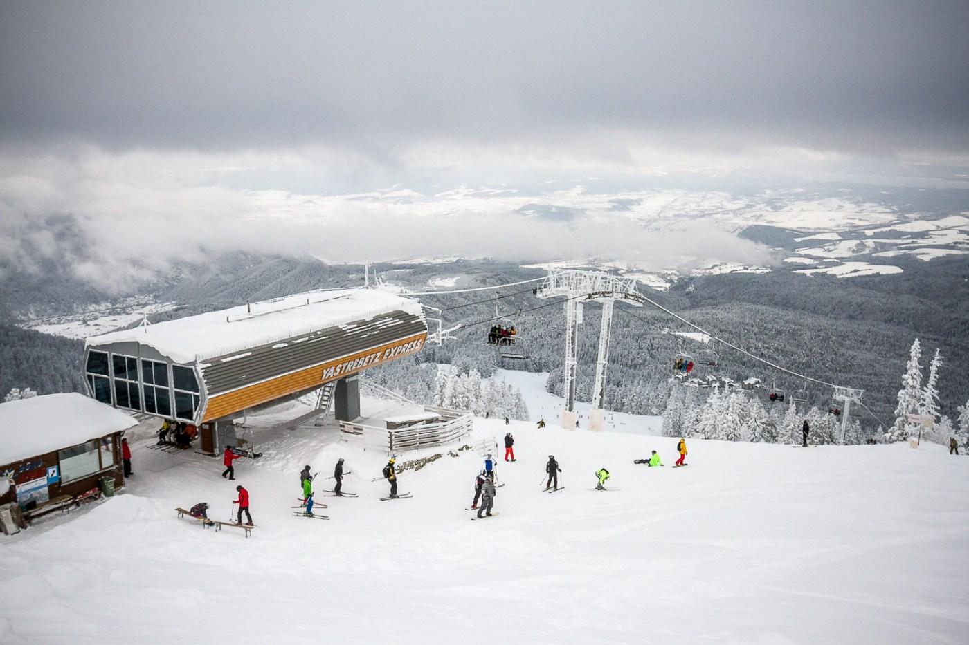 Отваряне на ски-център